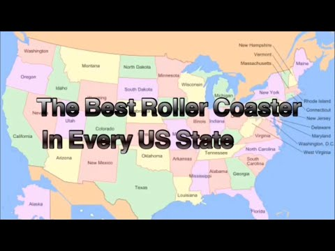The Best Roller Coaster In Every US State (9/21/19)