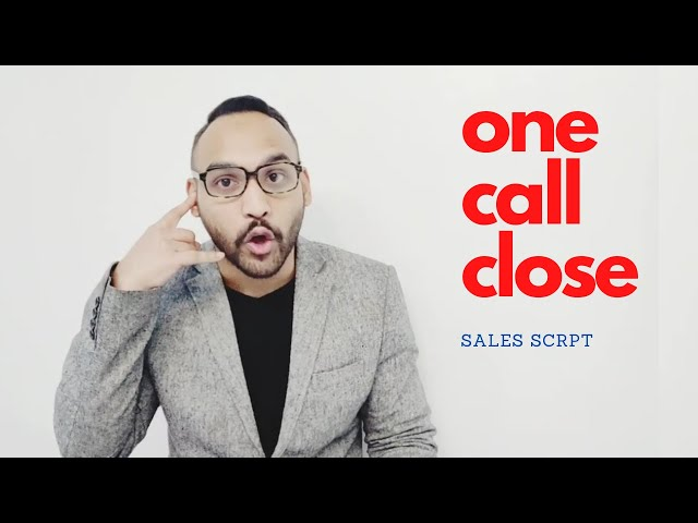 One Call Close Sales Script | SMMA with Abul Hussain