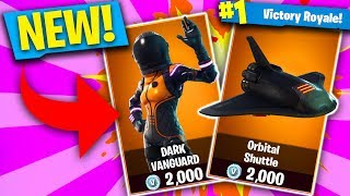 Dark Vanguard SKIN!! - Fortnite Battle Royale Gameplay (Fortnite New Skin Update)