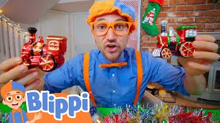 Blippi Visits A Christmas Tree Farm | Educational Videos For Kids