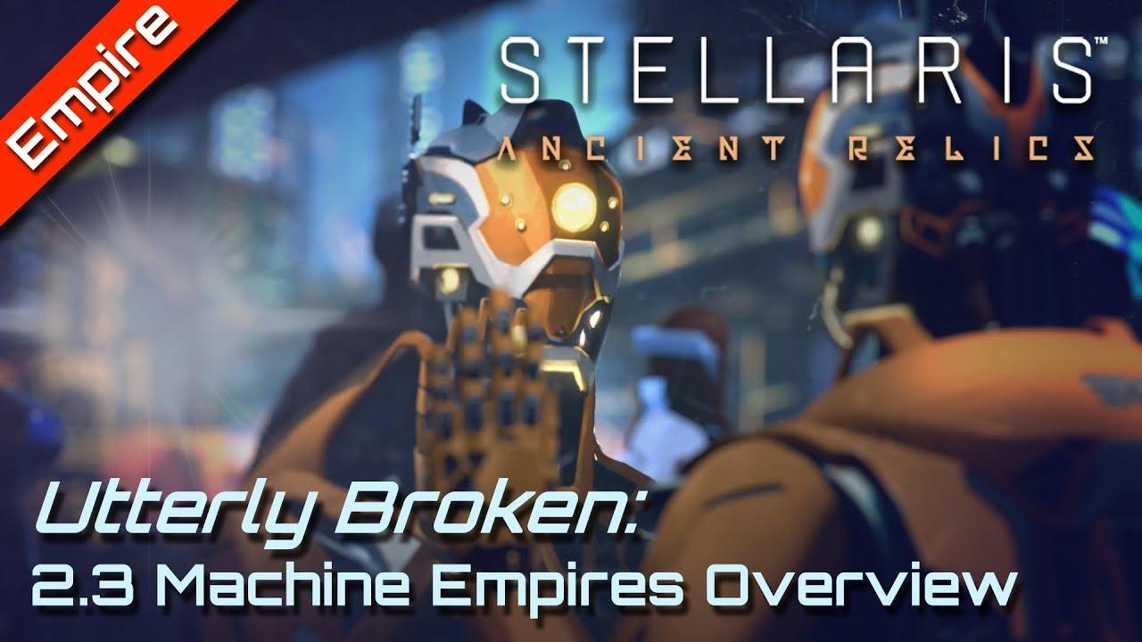Why Machine Empires are OP in 2 3 Wolfe | Stellaris 2 3