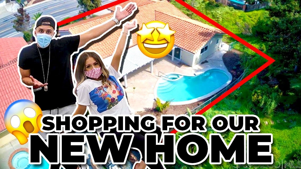 SHOPPING FOR OUR NEW HOME!! (Home Tour Update)