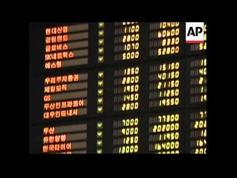 Japanese and Skor shares plunge after Wall St losses
