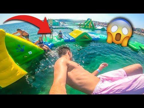 Der geilste Trampolinpark im Meer!
