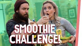 EKELHAFTE Smoothie Challenge mit Kelly und Sturmwaffel I GMI
