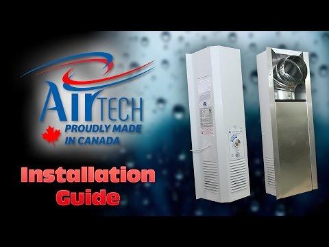 AirTech Equipment   CRAWLSPACE INSTALLATION