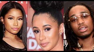 Nicki Minaj Talks Cardi B and 'MotorSport' and Gives THE TRUTH to all the RUMORS Circulating