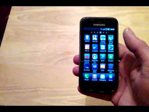 samsung galaxy s gt 1900 youtube. Black Bedroom Furniture Sets. Home Design Ideas