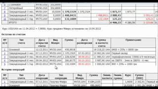 видео Выписка с расчетного счета ::  образцы и бланки