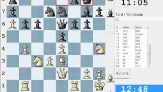 Chess World.net: LIVE Rapid #89 Vs Jabuka27 (1785) - King's Pawn Opening (B07) (Chessworld.net)