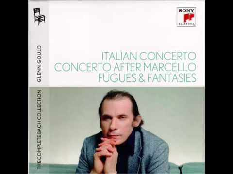 Glenn Gould Italian Concerto