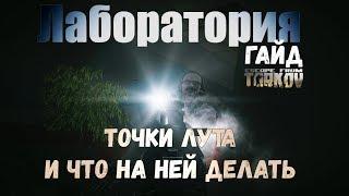 Скачать Лаборатория TerraGroup Точки лута и тактики выживания Гайд Escape From Tarkov