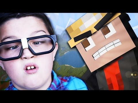 SCARED NERD GETS FREAKED OUT ON MINECRAFT! – (Minecraft trolling)