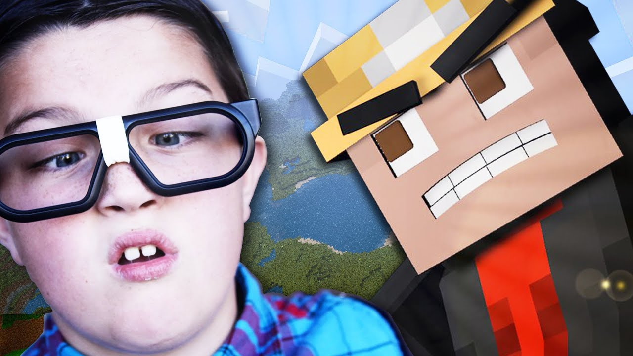 SCARED NERD GETS FREAKED OUT ON MINECRAFT! - (Minecraft ...