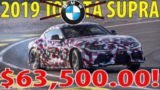 2019 TOYOTA SUPRA - 382HP $63,500.00