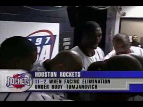 NBA on NBC   Utah Jazz @ Houston Rockets, 1997 WCF, Game Six