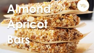 Fall Recipe Series: Almond Apricot Bars | Quick Healthy Breakfast Recipe | Healthy Grocery Girl Show