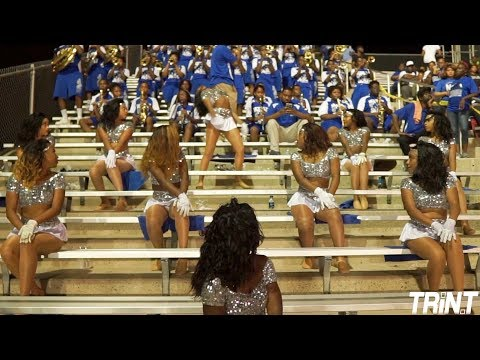 Flexin  McKinley High Band & Pantherettes 2018  McKinley vs Baker