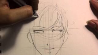 How to Draw a Basic Bishie (Manga style)
