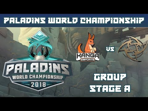 Paladins World Championship 2018: Group Stage A - Kanga Esports vs. Ninjas in Pyjamas