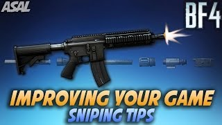 BF4 Recon/Sniping Tips - Improve Your Game (Battlefield 4 Commentary/Gameplay)