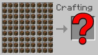 BIGGEST CRAFTING TABLE in Minecraft Pocket Edition (Working!)