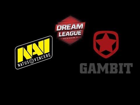 Navi vs Gambit Esports DreamLeague Season 11 Highlights Dota 2 thumbnail