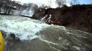 北海道ライオンアドベンチャー 尻別川ラフティング 春!2011 4 17