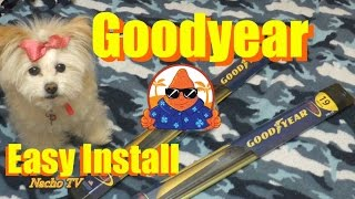 Costco Goodyear Wiper Blades How Replace Windshield Wipers Blades Easy Install