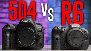 Canon 5D Mark 4 vs. Canon R6: Which one is BETTER?