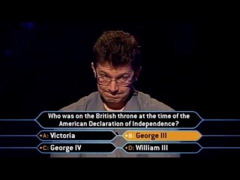 Glenn Jardine - Who Wants to be a Millionaire UK (7th February 2004)
