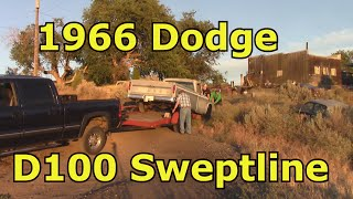 V12 CHASSIS WORK plus a NICE 1966 DODGE D100!
