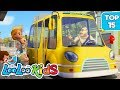 The Wheels on the Bus - TOP 15 Songs for Kids on YouTube