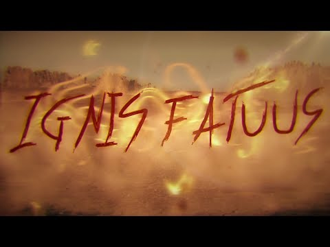 Lelahell - Ignis Fatuus Official Lyric video (Feat. Hannes Grossmann)