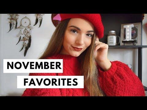 Αγαπημένα του μήνα || Νοέμβριος 2017 ✨