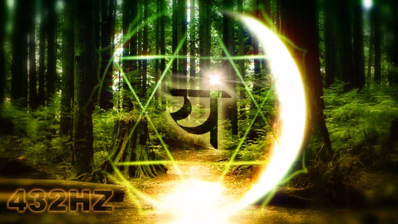 432hz Heart Chakra Meditation F Forest Day To Night Mix