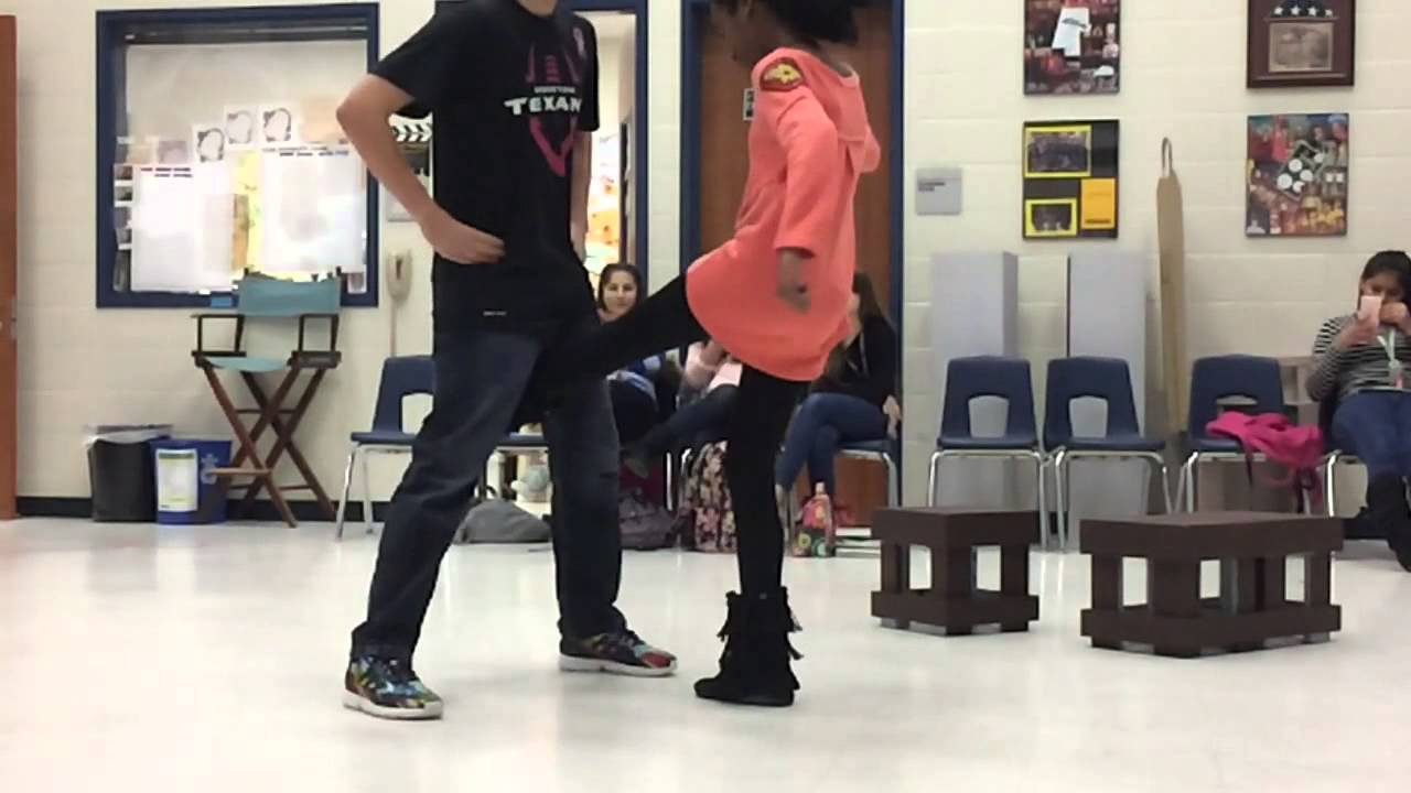 Kid Gets Kicked In The Crotch!