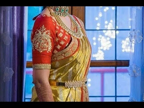Gold Silk Kanchipuram Bridal Pattu Sarees Latest Collection - Part 1.