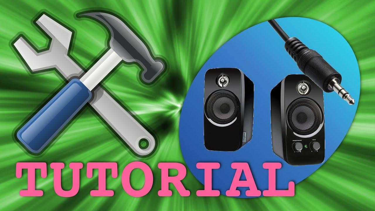 Arreglar altavoces de pc cable y conector rotos youtube - Cable de altavoces ...