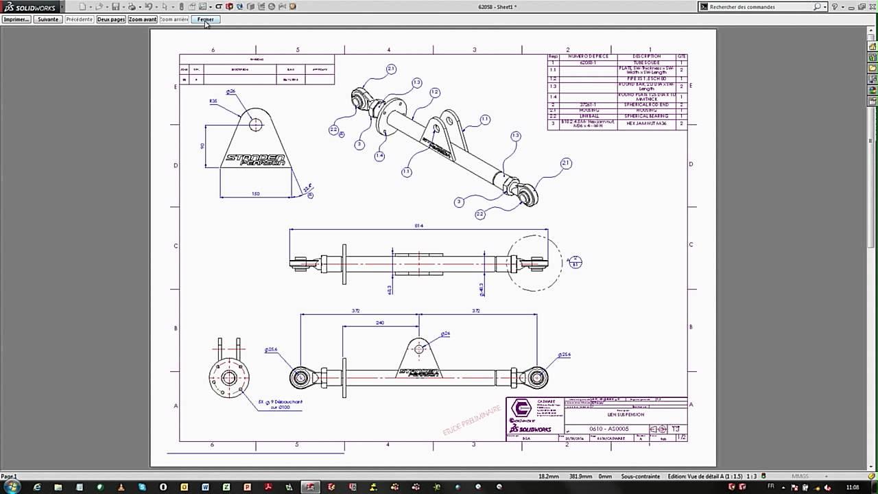 Nouveautés SolidWorks 2015 - Mise en plan et Esquisse ...