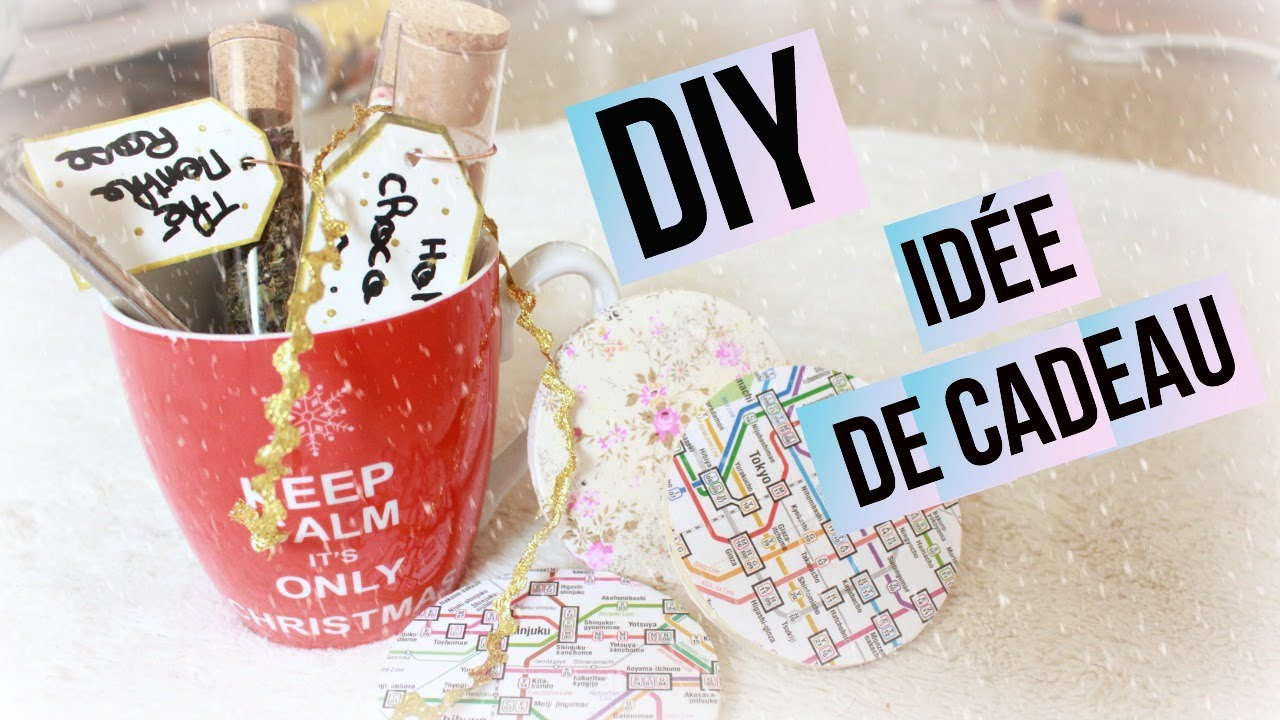 Diy id e de cadeau i diy fran ais youtube for Photo idee cadeau