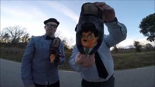 laurel & hardy rides a waveboard - laurel & hardy tribute video