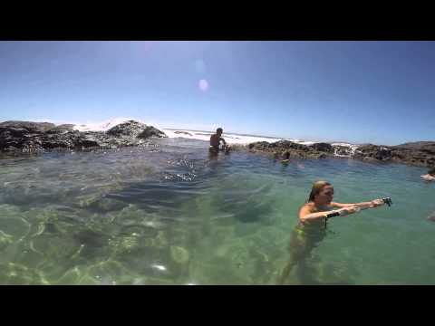 Champagne pools - Fraser island