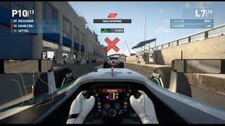 F1 2015 Mod Gameplay Jerez: Lewis Hamilton