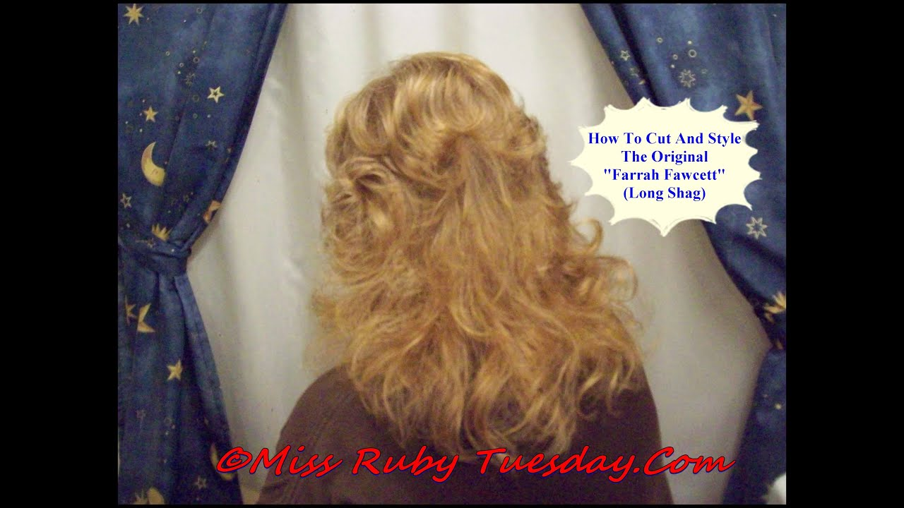 Miss Ruby Tuesday The Farrah Fawcett Haircut 2 Youtube