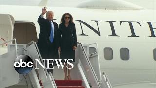 Trump Family Arrives in Washington