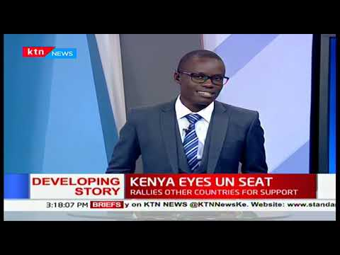 Kenya has garnered votes to the UN security council candidate