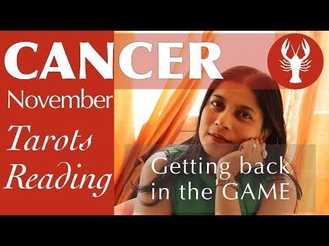 CANCER NOVEMBER Tarot reading forecast