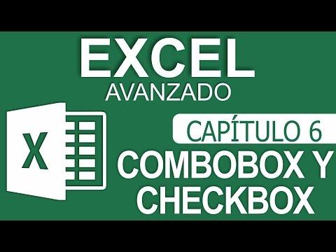 Curso Excel Avanzado - Capitulo 6 - ComboBox y CheckBox