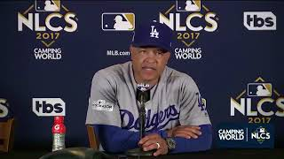 Dave Roberts Postgame Interview | Dodgers vs Cubs Game 3 NLCS